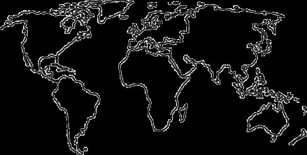 Map Outline Black